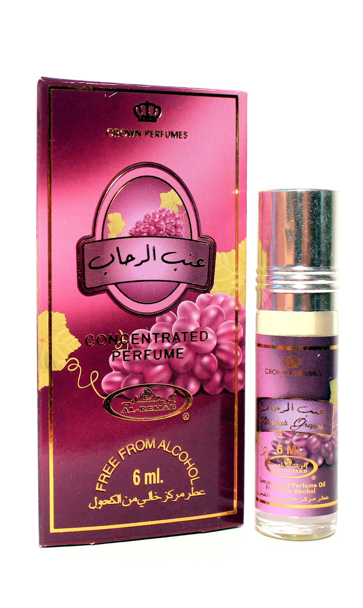 Grapes Грейпс 6 мл арабские масляные духи от Аль Рехаб Al Rehab