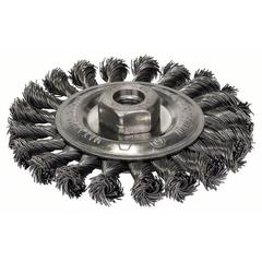 Кольцевая щетка BOSCH M14 0.5х115 мм пучки сталь