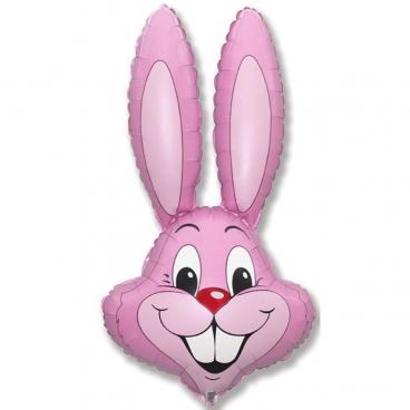 Голова Кролика светло розовая