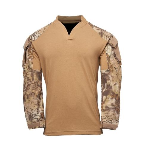 Толстовка KRYPTEK Tactical воротник Регби длинные рукава Coyote/Highlander™