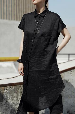 Платье-рубашка «DEMU»