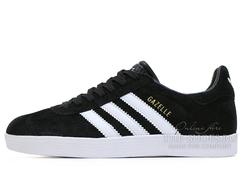 Кроссовки Женские Adidas Gazelle Light  Black  White