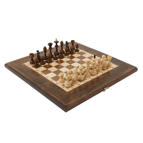Шахматы + Нарды резные 30, Haleyan kh111