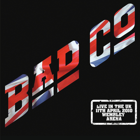 Bad Company / Live In The UK 2010 (Coloured Vinyl)(2LP)