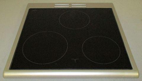 Верхнее стекло в раме плиты Беко 4490910151