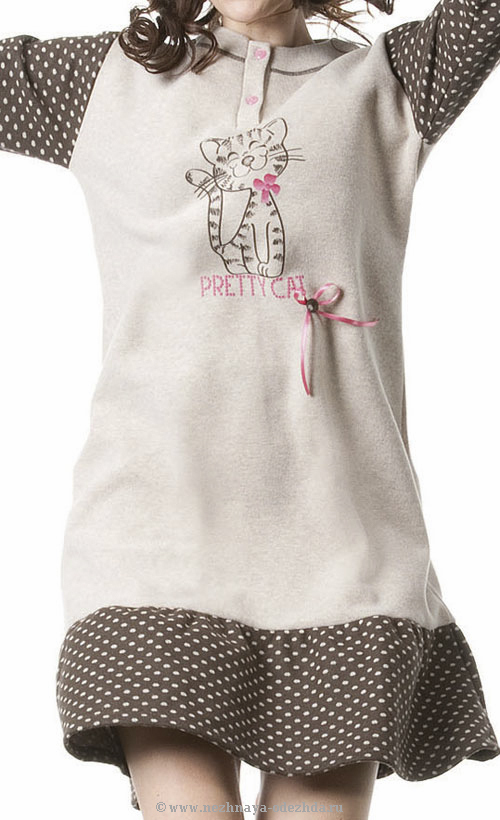Молодежное домашнее платье Stella Due Gi