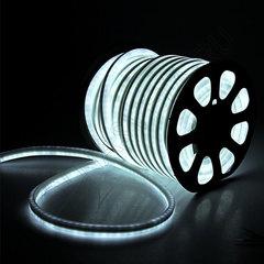 Гибкий неон 15*25 мм, светодиодный | Белый - 25м