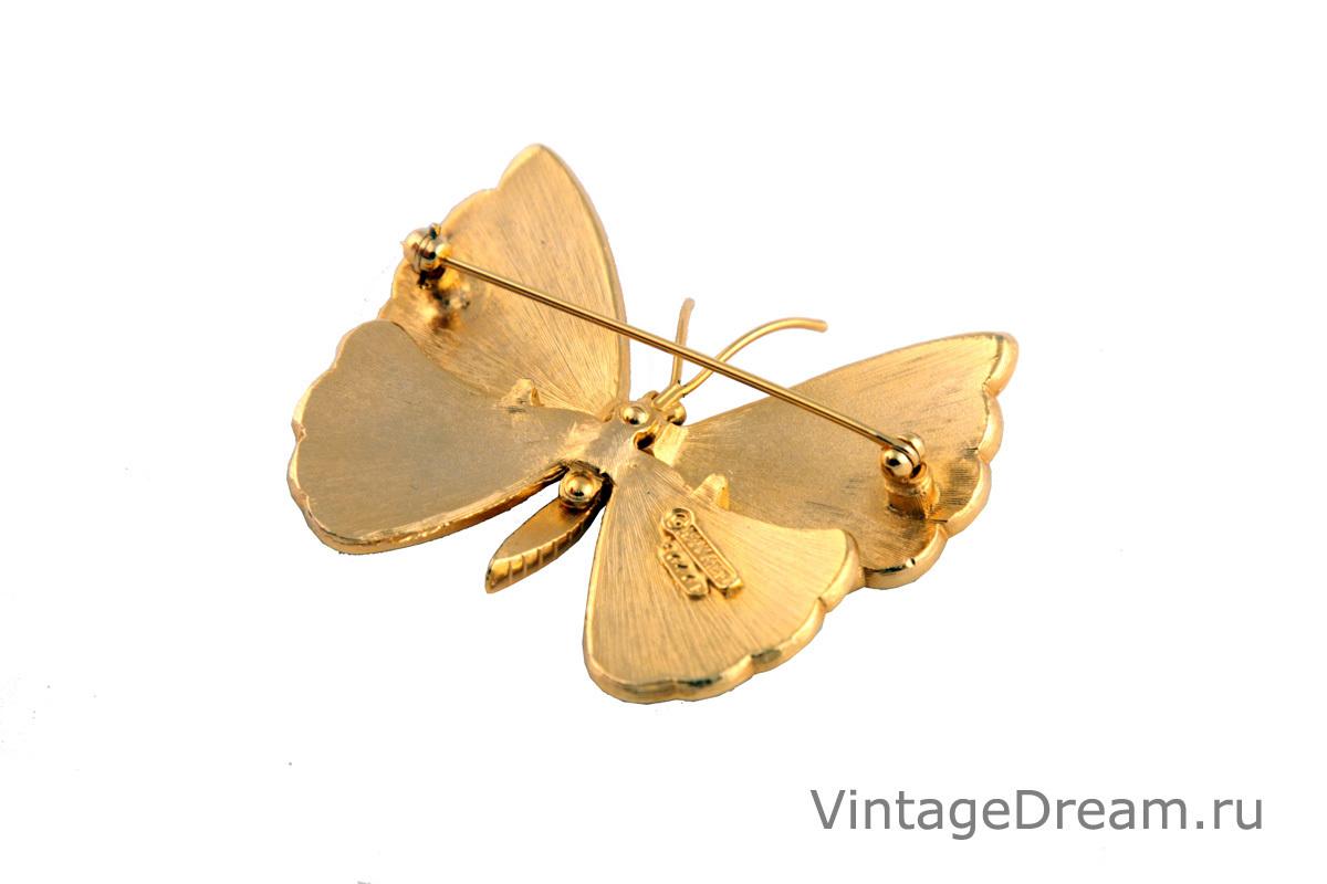 """Необычная брошь """"Бабочка"""" от Boucher"""