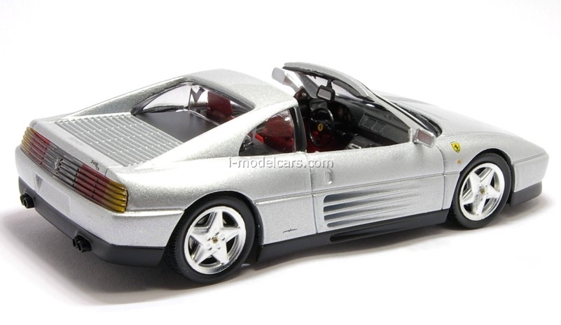 Ferrari 348 TS gray 1:43 Eaglemoss Ferrari Collection #41