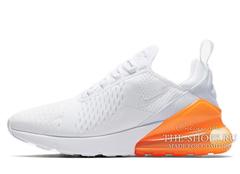 Кроссовки Женские Nike Air Max 270 White Orange