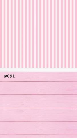 Фотофон стена-пол 091 Розовые полоски