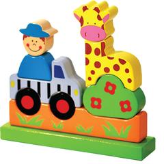 ToysLab Магнитный конструктор «Зоопарк» (71005)