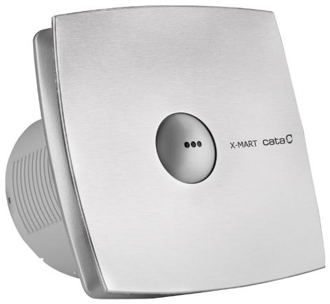 Вентилятор накладной Cata X-Mart 10 Matic inox Hygro (таймер, датчик влажности)