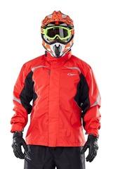 Куртка-дождевик Dragonfly EVO Red - мембрана