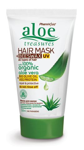 Несмываемая маска для волос Aloe Treasures 120 мл