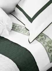 Постельное белье 2 спальное евро макси Mirabello San Marco кремовое