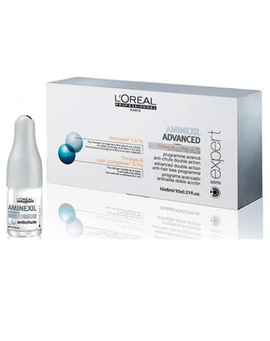 Ампулы против выпадения волос, Loreal Aminexil, 42 шт.х6 мл.