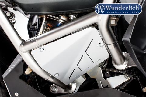 Защита двигателя на оригин.защитные дуги BMW R1200GSA LC Комплект Серебро