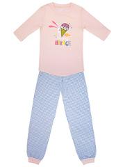 GP02-035п Пижама детская, розовая клетка