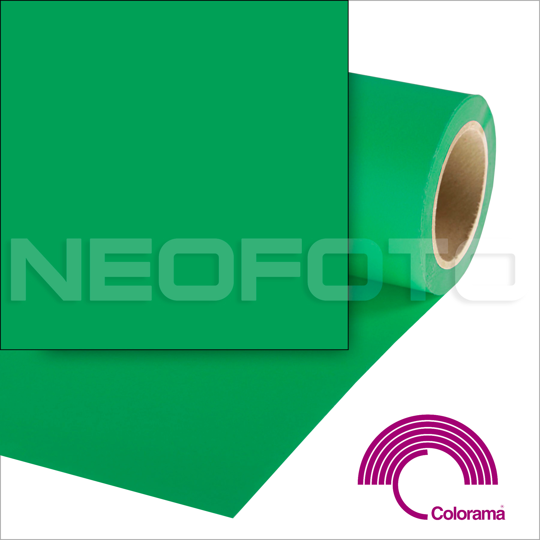 Colorama CO133 Chromagreen 2.72х11 м
