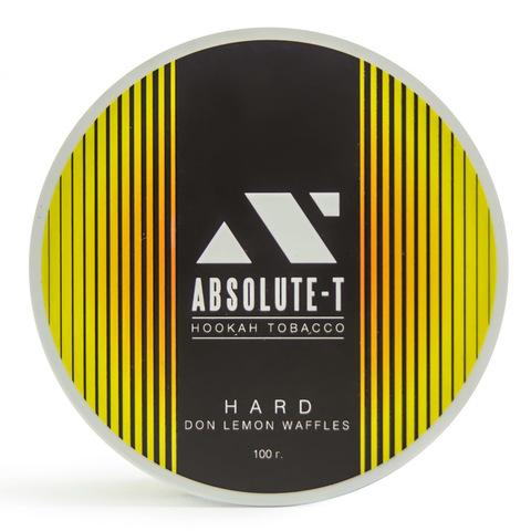 Табак Absolute-T Hard Don Lemon Waffles (Лимонные вайли) 100 г