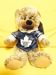 Мишка сувенирный Toronto Maple Leafs