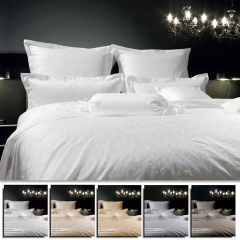 Постельное белье 2 спальное евро Janine Rubin коричневое