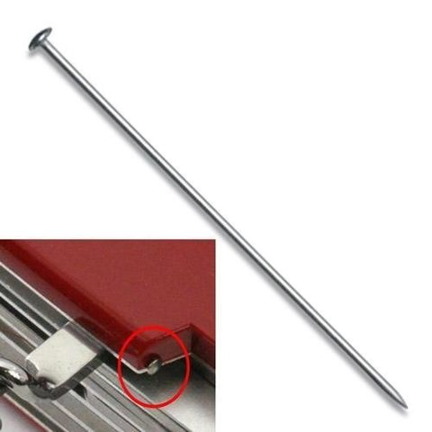 Булавка для ножей 91 мм. и швейцарских карт Victorinox (A.3645) - Wenger-Victorinox.Ru