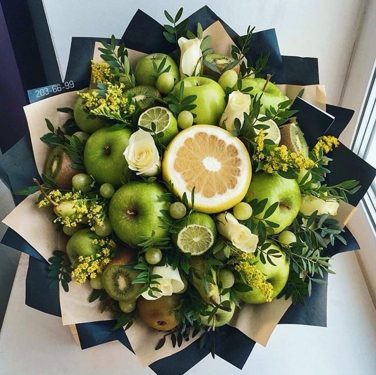 Пермь букеты из фруктов, цветы спб отзывы