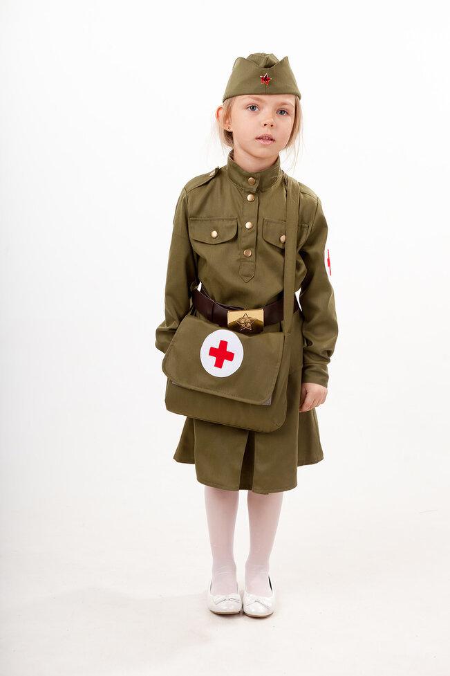 Костюм детский Военная Медсестра
