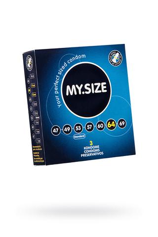 Презервативы  ''MY.SIZE'' №3 размер 64 (ширина 64mm)