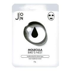 J:ON Molecula Bird's Nest Daily Essence Mask - Маска для лица тканевая ласточкино гнездо