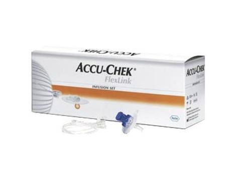 Набор инфузионный  Акку-Чек ФлексЛинк  8/30  (длина иглы 8 мм, длина катетера 30 см)