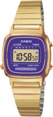 Женские наручные электронные часы Casio LA670WGA-6