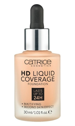 Жидкая тональная основа Catrice HD Liquid Coverage Foundation 030 Sand Beige