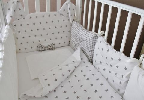 Комплект в кроватку Mr. Rabbit, на 4 стороны кроватки