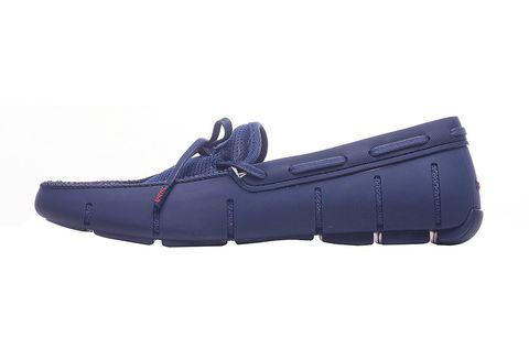 Мокасины Swims Lace Front Синие