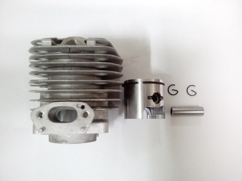 Цилиндро-поршневая группа для бензопилы объемом двигателя 37,2 см3