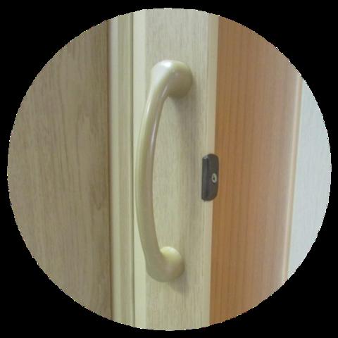 Двери гармошка эконом