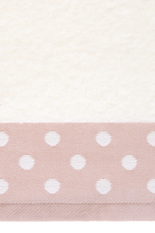 Полотенце 30х50 Luxberry Pretty Dots розовое