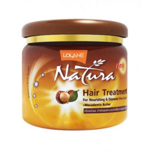 Lolane Маска для волос Макадамия Natura Hair Treatment Macadamia Butter, 250 мл