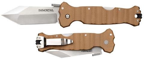 Нож Cold Steel модель 23HVB Immortal Coyote Tan