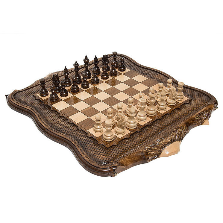 Шахматы+нарды резные «Арарат 2» 60, Ohanyan от 29 990 руб