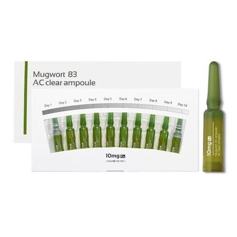 MUGWORT 83 AC CLEAR Сыворотка для лечения АКНЕ 1 ампула