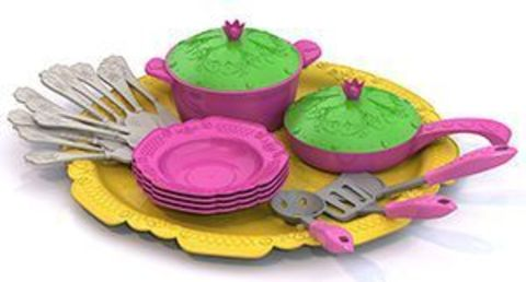 Набор посуды 23пр Кухонный сервиз