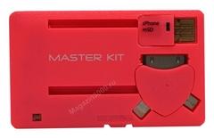 Портативное зарядное устройство «Power-Флешка» (розовый) ( SD 8 Гб)