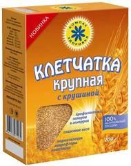 Клетчатка пшеничная крупная с крушиной, 150 гр. (Компас Здоровья)