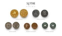 Серп. Металлические монеты