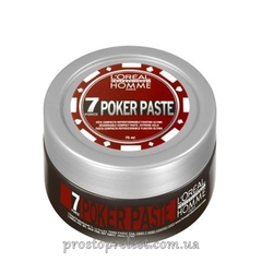 L'Oreal Professionnel Homme 7 Force Poker Paste - Моделирующая паста