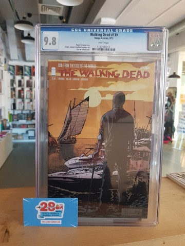 The Walking Dead #139 CGC 9.8